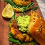 Zesty Lemon Pepper Salmon Burgers