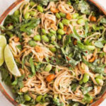 Easy Peanut Noodles with Edamame
