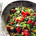 Sauteed Mustard Greens